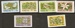 Tokelau  1987  SG  142-7 Flora   Livestock  Unmounted Mint - Tokelau