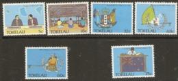 Tokelau  1988  SG  159-64  Politacal Development   Unmounted Mint - Tokelau