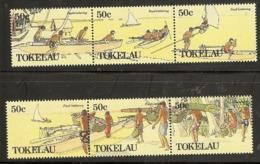 Tokelau  1989  SG  171-6  Food Gathering   Unmounted Mint - Tokelau