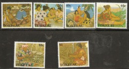 Tokelau  1990  SG  177-82  Womens Handicrafts   Unmounted Mint - Tokelau