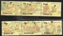 Tokelau  1990  SG  183-8  Mens   Handicrafts   Unmounted Mint - Tokelau