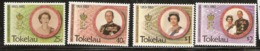 Tokelau  1993  SG  197-200  Anniversary Coronation      Unmounted Mint - Tokelau