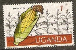 Uganda  1975  SG  156  Maize    Fine Used - Uganda (1962-...)