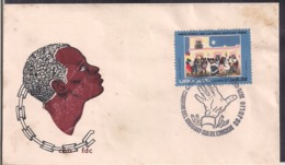 Uruguay - 1976 - FDC - Abolición De La Esclavitud - Cygnus - Uruguay