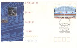 (C 34) Australia - FDC - 1999 - Opening Of Harbour Bridge - Ersttagsbelege (FDC)