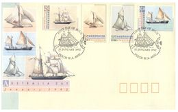 (C 34) Australia - FDC - 1992 - Australia Day (2 Covers) - Sailing Ships / Voilier - Ersttagsbelege (FDC)