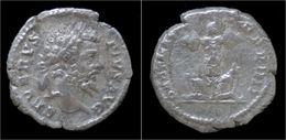 Septimius Severus AR Denarius Trophy Of Arms - 4. The Severans (193 AD Tot 235 AD)