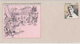 Australia PSE 009 1979 Norman  Lindsay,mint - Ganzsachen