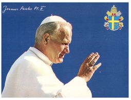 (C 35) Italy - Vatican Crest - Pope John Paul II - Pape Jean Paul II - Papi
