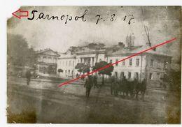 Ternopil Tarnopol Ukraine Тернополь  (3-5)   Judaika  Guerre 14/18-WWI Photo Allemande - 1914-18