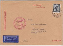 Zeppelin Brief LZ 127 Orientfahrt Mit SST - Germany