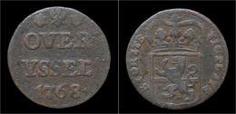 Netherlands Overrijsel Duit 1768 - [ 1] …-1795 : Période Ancienne