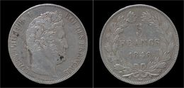 France Louis Philippe I 5 Francs 1846W - France