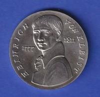 DDR 5 Mark Gedenkmünze 1986 Heinrich Von Kleist , Erhaltung Stempelglanz Stg  - Otros