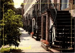 Georgia Savannah Gordon Row 19th Century Dwellings - Savannah