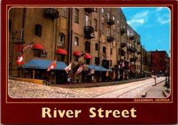 Georgia Savannah River Street Once A Thriving Cotton Port - Savannah