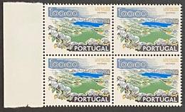 POR#3379-72-Block Of 4 MNH Stamps Of 100$00 - Paísagens E Monumentos - 1st Series - Portugal - 1972 - Blocs-feuillets
