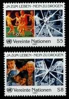 UNO WIEN Nr 71-72 Postfrisch X92A84E - Vienna – International Centre