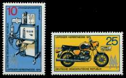 DDR 1975 Nr 2076-2077 Postfrisch S0AA6CE - [6] Democratic Republic