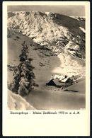 A3900 - Kleine Teichbaude Im Riesengebirge Berghütte - Schlesien - Walter Staudte - Schlesien