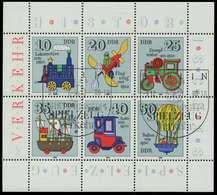 DDR BLOCK KLEINBOGEN Nr 2566-2571 KLEINBG SBB03DA - Blocks & Sheetlets