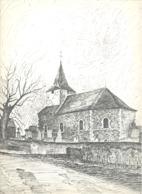 EVEGNEE -  L'Eglise - Lithographie De Laurent BALHAN (Mi11) - Litografia