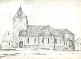 ANDRIMONT -  L'Eglise - Lithographie De Laurent BALHAN (Mi11) - Litografia