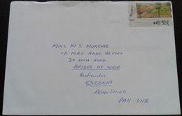 Spain - ATM Cover To Scotland 2004 - 2001-10 Briefe U. Dokumente