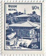 PASHUPATINATH TEMPLE Regular STAMP NEPAL 1995 MINT - Hinduism