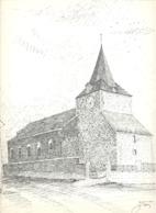 MORTIER -  L'Eglise - Lithographie De Laurent BALHAN (Mi11) - Litografia