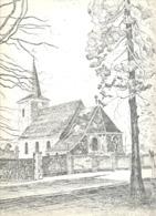St. - PIETERS VOEREN / FOURON St. PIERRE  -  L'Eglise - Lithographie De Laurent BALHAN (Mi11) - Lithographies