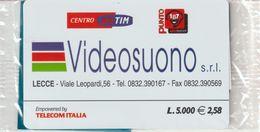 27-Carta Alberghi-Videosuono S.r.l.-Lecce.-Nuova In Confezione Originale - Italy