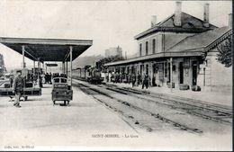 CPA (PAS DE DATE) - LE TRAIN ARRIVE EN GARE - - Saint Mihiel