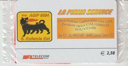 31-Carta Alberghi-Agip-La Piana Servizi-Lamezia Terme (CZ)-Nuova In Confezione Originale - Italy