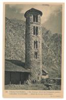 Valls D'Andorra, Sta Coloma. Detail Del Campanar Romanic (9559) - Andorre