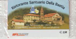 34-Carta Alberghi-Ristorante Santuario Della Bastia-Nuova In Confezione Originale - Italy