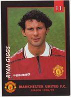 No 11 - RYAN GIGGS - Manchester United F.C. - Season 1998/99 - (Soccer/Voetbal/Football/Fußball) - Calcio