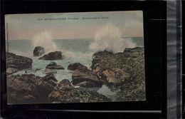 CARTE POSTALE Noirmoutier Rochers De La Claire En L'état Sur Les Photos - Noirmoutier