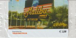 36-Carta Alberghi-Malibu Beach-Nuova In Confezione Originale - Italy