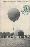 Les Manœuvres De Forteresse De 1906 En Haute Marne.Un Lâcher D' Un Ballon à MARAC - Frankrijk