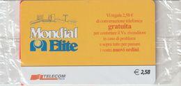 38-Carta Alberghi-Mondial Elite-Nuova In Confezione Originale - Italy