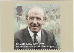 Footballer And Manager: Sir MATT BUSBY (1909-1994) - Royal Mail 2009 - (Soccer/Voetbal/Football/Fußball) - Calcio