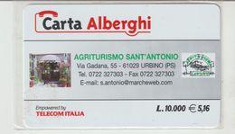 39-Carta Alberghi-Agriturismo Sant' Antonio-Urbino (PS)-Nuova. - Italy