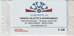 40-Carta Alberghi-Agro Edil-Rossano Scalo (CS)-Nuova. In Confezione Originale - Italy