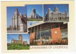 Liverpool, Merseyside: ANFIELD, The Home Of Liverpool Football Club, 'Paisley Gateway', 'The Kop' -  Etc. - Calcio