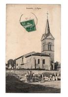54 MEURTHE EN MOSELLE - BRAINVILLE EN WOEVRE L'Eglise - Other Municipalities