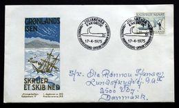 Greenland 1975 Mail Transport By Boat (Søkongen). Minr.93  FDC  Cz.Slania  ( Lot Ks ) - FDC