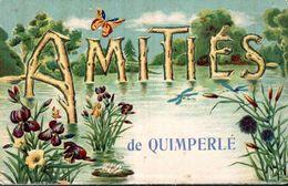 CPA 1918 - AMITIES DE LA VILLE - - Quimperlé
