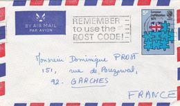 Grande Bretagne Lettre 1 Timbre 1973 - Covers & Documents
