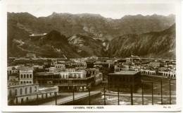 Yemen Aden , Général View - Posted Half & One Anna 1929 - Yemen